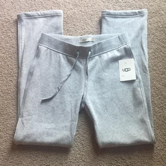 bf0592b072 UGG Penny double-knit fleece lounge pants.